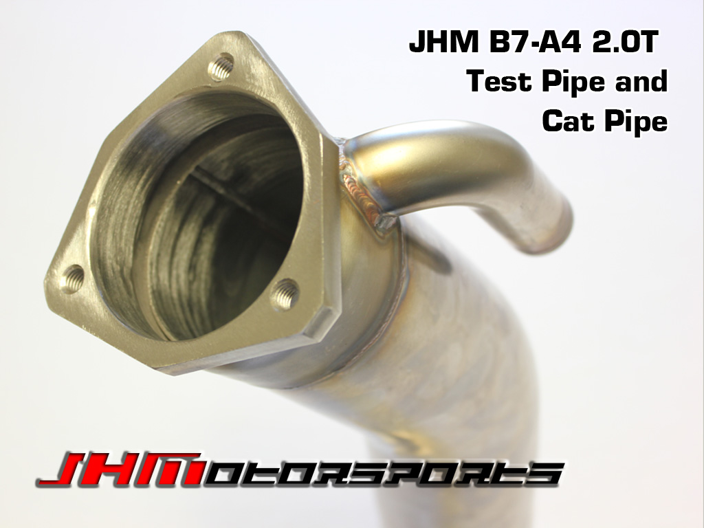 Audi Exhaust - Race Pipe 3 Catless Race Pipe for B7-A4 2.0T