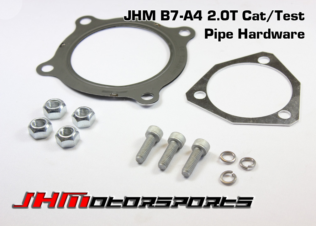 Audi Hardware Kit for B7-A4 2.0T Cat Pipe or Race Pipe