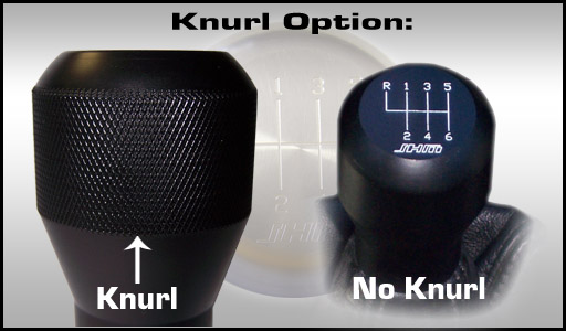(This allows you to get a better grip on the knob when shifting)