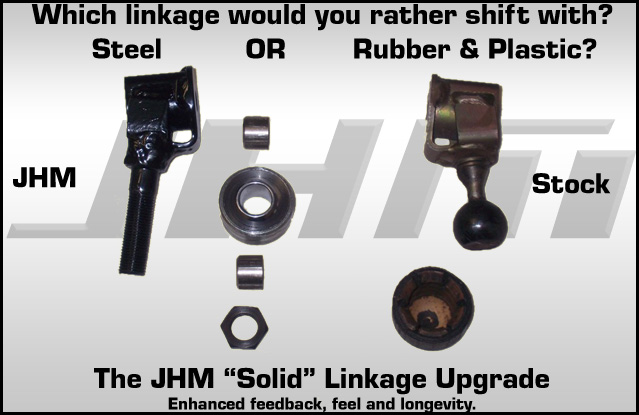 B6-B7 A4 6 Speed Solid Shifter, Linkage & Bushing